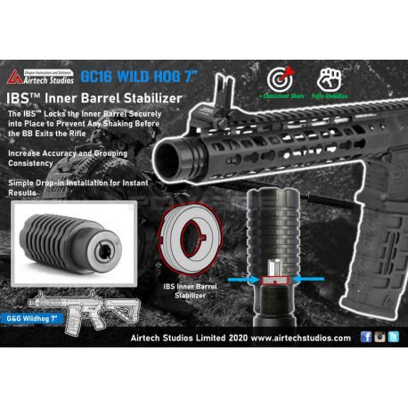 Airtech Studios IBS Inner Barrel Stabilizer for G&G Wild Hog 7 Inch -
