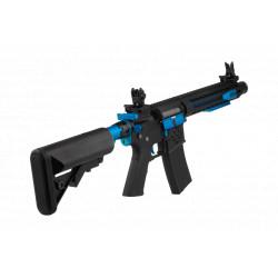 Cybergun Colt M4 Blast Blue Fox AEG Full metal Mosfet