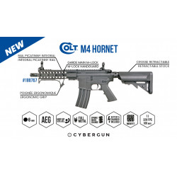 Cybergun Colt M4 Hornet AEG Full metal Mosfet - Black
