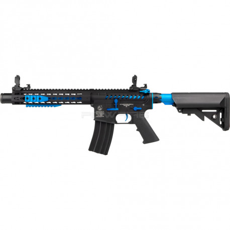 Cybergun Colt M4 Blast Blue Fox AEG Full metal Mosfet -