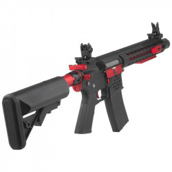 Cybergun Colt M4 Blast Red Fox AEG Full metal Mosfet