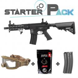 Colt M4 Hornet AEG black Starter Pack -