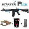 Colt M4 Hornet AEG blue Starter Pack -