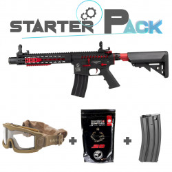 Colt M4 Blast Red Fox AEG Starter Pack -