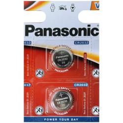 Panasonic CR2032 3V Battery (lot of 2) -