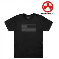 Magpul Tee shirt US Flag - Black -
