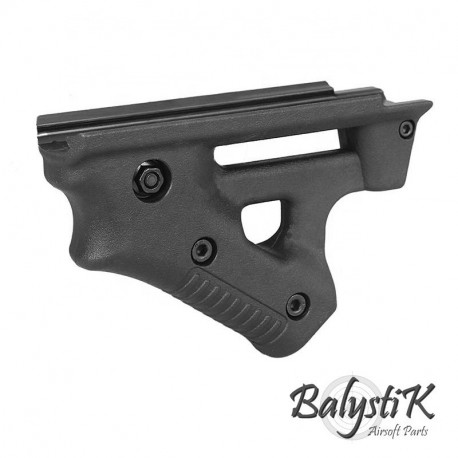 Balystik Fighter ANGLED FORE GRIP for weaver rail -