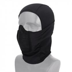 Invader Gear Mk.III Steel Half Face Mask Black -