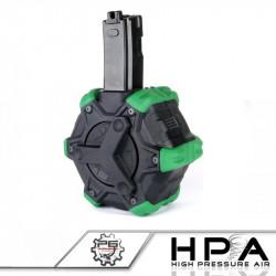 P6 chargeur WE 350 billes converti HPA pour WE Apache MP5 GBBR -