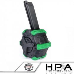 P6 chargeur WE 350 billes converti HPA pour Glock GBB -