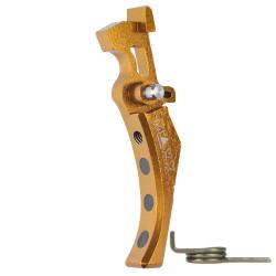Maxx Model CNC Aluminum Advanced Trigger Style D - Gold -