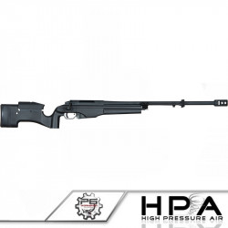 P6 MSR-009 sniper rifle tuned in HPA - black -