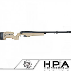 P6 MSR-009 sniper rifle tuned in HPA - Tan -