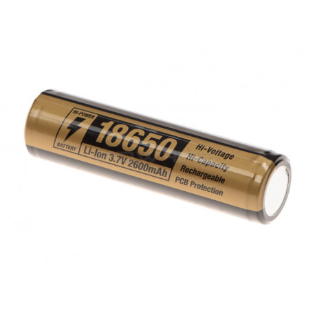 Clawgear 18650 Battery 3.7V 2600mAh -