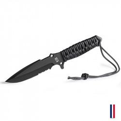 TB Outdoor couteau Le Maraudeur Paracord - Noir -