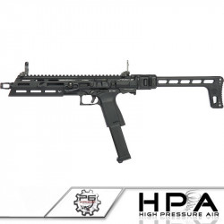 P6 G&G SMC9 Carbine gas GBB tuned in HPA -