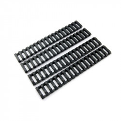 P6 tactical nylon ladder Rail covers for RIS (black) -