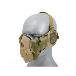 Half Face SKULL Mask (Ear Version) - Multicam -