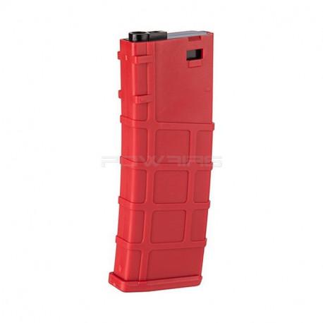 LONEX 200 rounds mid cap magazine for M4 AEG - RED