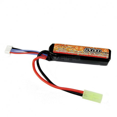 VB Power 11.1v 560mah 40C lipo battery - mini Tamiya