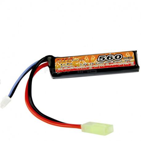 VB Power 7.4v 560mah 40C lipo battery - mini Tamiya