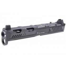 EMG Strike Industries ARK RMR CNC Slide for VFC Glock 17 Gen4 GBB - Black