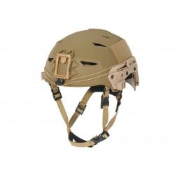 FMA Tactical EXF Bump Type Helmet - Dark Earth -