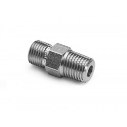 1/8 NPT slainless steel male male adapter -