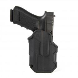 Blackhawk Holster T-Series L2C LB for Glock 17/19/22/23/31/32/45/47 TLR7/8 -