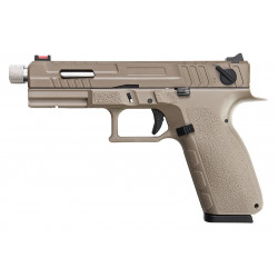 KJ Works KP-13 Custom Full Auto Gas Tan -