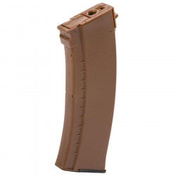 LCT 450rds AK hi-cap magazine - orange -