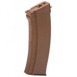 LCT Chargeur hi-cap AK 450 billes orange -