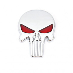 Sticker metal autocollant style punisher (selectionable) -
