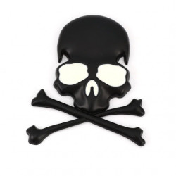 Sticker metal autocollant style Pirate (selectionable) -