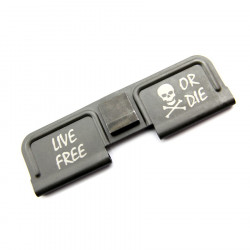 "Powair6 dust cover custom ""LIVE FREE OR DIE"" pour Systema PTW M4"