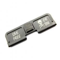 "Powair6 dust cover custom ""LIVE FREE OR DIE"" pour Systema PTW M4 - Powair6.com"