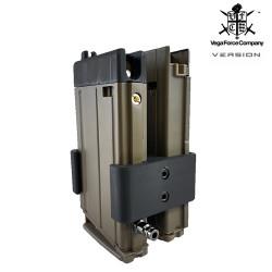 P6 chargeur HI-CAP HPA 500 coups pour Scar H GBBR VFC -