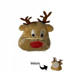 RedNose Velvro Patch
