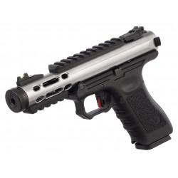 WE Galaxy GBB pistol - Silver -