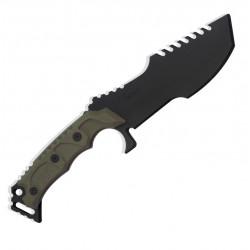 TS-Blades HUNTSMAN G3 training knife - Ranger Green -
