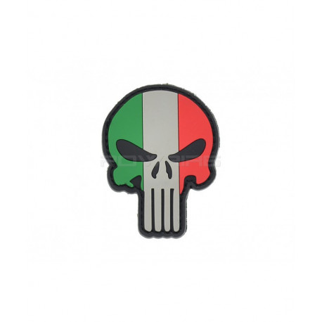 Patch Italia Punisher Flag