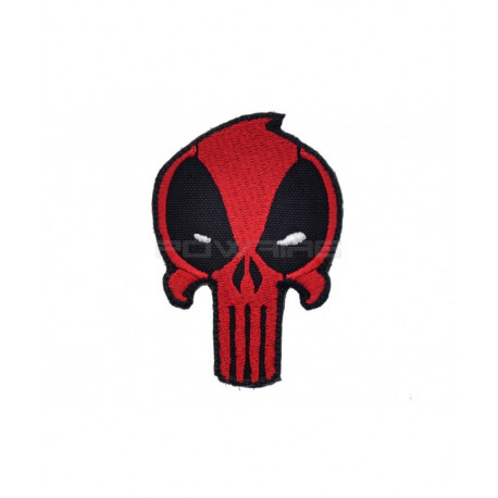 Patch Deadpool Punisher