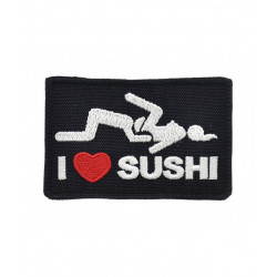 Patch I Love Sushi
