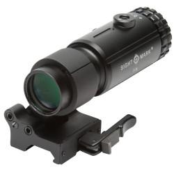 Sightmark magnifier T-5 avec LQD Flip à montage latéral