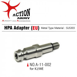 AAC Stainless steel HPA Adaptor for KJ/WE - EU