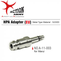 AAC Stainless steel HPA Adaptor for Marui - EU
