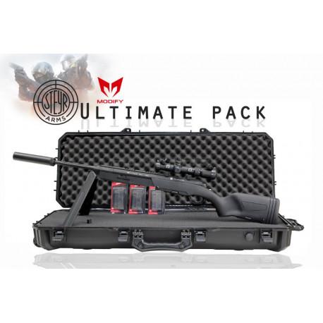 Pack Steyr Scout sniper rifle - Noir -