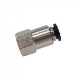 Adaptateur 1/8 NPT femelle pour flexible 6mm -