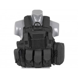 8FIELDS tactical Combat vest with molle system black