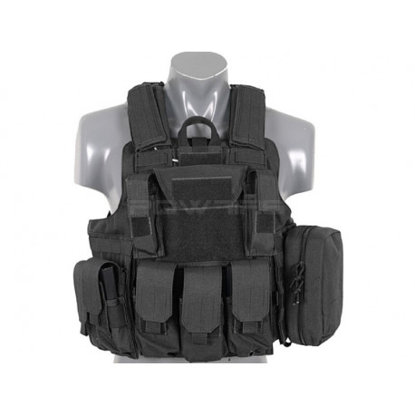 8FIELDS tactical Combat vest with molle system black -